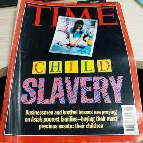 time 杂志 child slavery