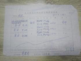 北京师范大学出版社稿费申请单《九年义务教育四年制初级中学试用课本美术一 三 五》稿费