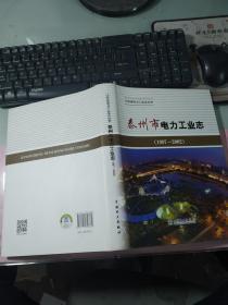 泰州市电力工业志 : 1997~2002  无字迹