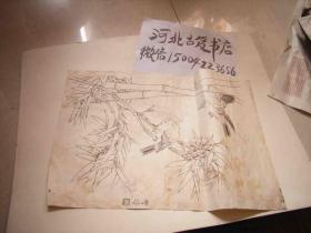 花鸟-民国石印 一页