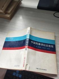 中国刑事诉讼法教程