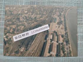 金华老火车站鸟瞰照片【金华老照片收藏】