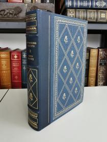 Wuthering Heights 《呼啸山庄》 艾米丽 勃朗特 emily bronte 经典名著 Franklin Library 1979年 真皮书脊 布面精装版