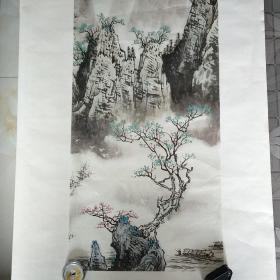 旧藏宣纸画珂罗版