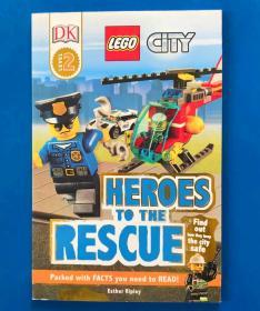 (B4) DK Readers L2: LEGO City: Heroes to the Rescue 平装