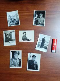 文革时期的毛主席照片 像片  7枚一组合让  其中一枚有裂口   背有字: 1969年2月3日购于凤凰圩……