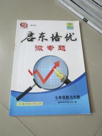 启东培优微专题 七年级数与代数