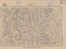民国二十五年(1936年)《太原老地图》图题为《太原县》(原图高清复制)(太原县老地图、太原县地图、太原市老地图、太原市地图、太原地图、阳曲老地图、交城老地图、阳曲县老地图、交城县老地图)太原城在全图右下方,太原县占本图不多,图中含阳曲县和交城县。参谋本部陆地测量总局测绘,十万分之一比例尺,全图年代准确,绘制详细,地名清晰。此图种非常稀少。太原地理地名历史变迁重要史料。裱框后,风貌佳。
