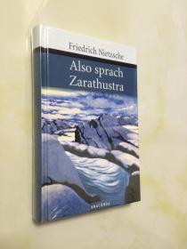 【预定】Also sprach Zarathustra 查拉图斯特拉如是说德语版 尼采 德文原版