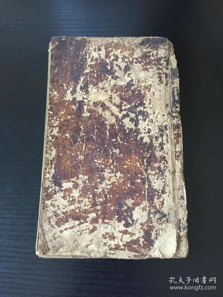 清大开木刻本《小雅》卷之三一册(诗经卷四、卷五)