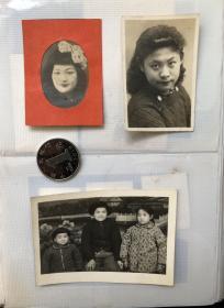 民国-70年代 同一家庭老照片一册55枚
