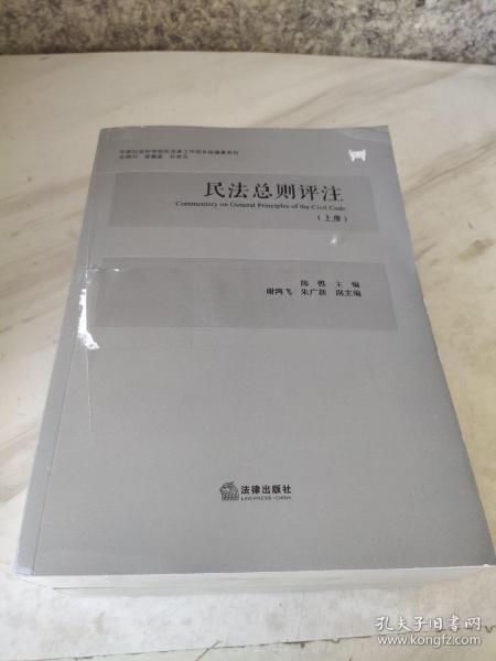 民法总则评注(全2册)