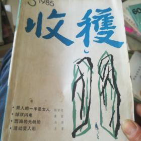 收获1985年第五期(张贤亮,男人的一半是是女人,莫言:球状闪电,马原,西海的无帆船,王蒙活动变人形)