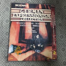 德国表现主义作品收藏集 奥莱克之手 悚影 一个灵魂的秘密 卡里加纳博士的小屋   3DVD9   光盘  (碟片未拆封)多网唯一  外国电影 (个人收藏品)绝版 百威