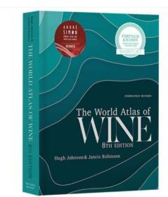 英文原版 世界葡萄酒地图集 第8版 World Atlas of Wine 8th Edition