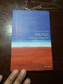 Politics:A Very Short Introduction政治的历史与边界(牛津通识读本) 英文原版著作(英文,英文,英文,原版,原版,原版)重要的事情说三遍。