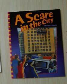 英文原版 A Scare in the City by Sherilin Chanek 著