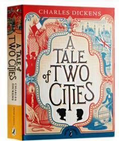 英文原版小说 双城记 A Tale of Two Cities 英文版 狄更斯 Puffin Classics