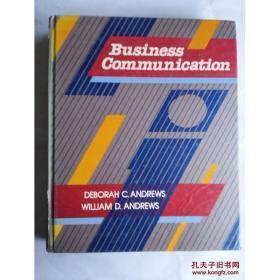 现货【全国运费6元起】Business Communication  9780023035104