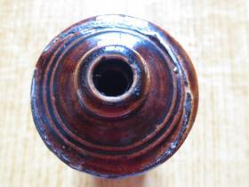 民国-黑釉色茅台酒瓶(空瓶)