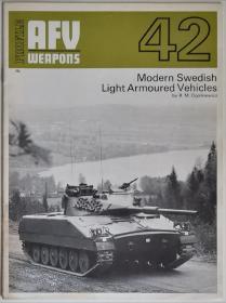 英文原版Modern Swedish Light Armoured Vehicles冷战前期瑞典轻型履带式装甲车辆专辑AFV Weapons Profile系列基于二战捷克38(t)坦克底盘和参考美军M113设计的Pbv装甲输送车及架桥车工程车IKV 91坦克歼击车等文字数据照片线图资料