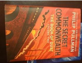 英文原版 灰烬之书2 Philip Pullman 黑质三部曲黄金罗盘作者 尘之书 The Book of Dust: The Secret Commonwealth