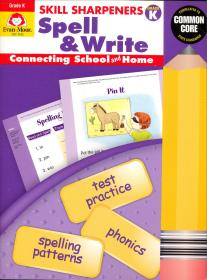 现货 Skill Sharpeners Spell & Write  Kinder
