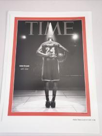 科比时代周刊封面原版海报美国寄回