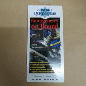 Emergencies on Board: A Captains Quick Guide (Captains Quick Guides)