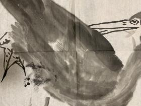 艺术大师李苦禅之子,中国美术家协会会员,齐白石艺术研究会副会长,中央文史馆馆员,九三学社中央书画院副院长,清华大学美术学院教授李燕钤印水墨花鸟画稿(保真)