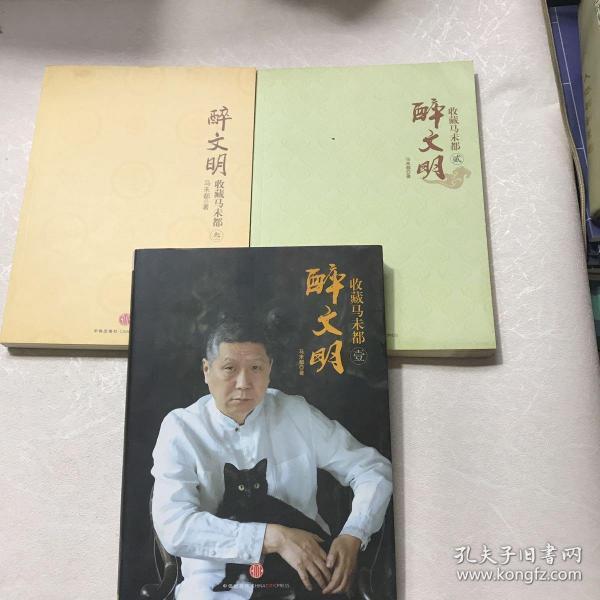 醉文明:收藏马未都(123)(内页干净)