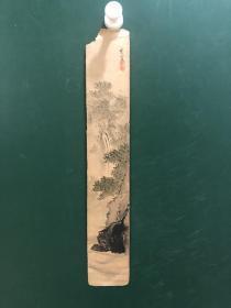 日本回流字画835号 色纸 卡纸小画片