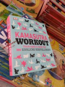 DK 原版特价 Kamasutra Workout 爱经 德文版 Kama Sutra Workout