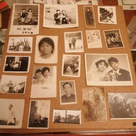 黑白照片20张 货号87