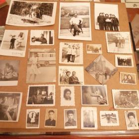 黑白照片27张 货号90