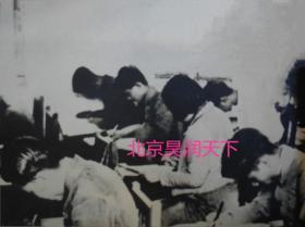 1940年刻苦学习的西南联大学生 2张