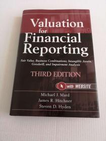 Valuation For Financial Reporting, Third Edition + Website: Fair Value, Business Combinations,  Intangible Assets, Goodwill And Impairment Analysis 9780470534892【货号1】