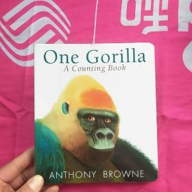 【预订】One Gorilla: A Counting Book