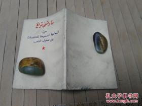毛泽东关于正确处理人民内部矛盾的问题【阿拉伯文版】
