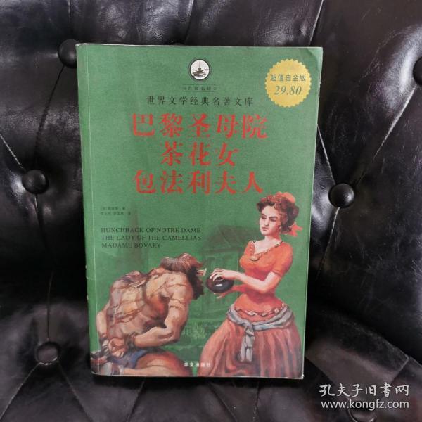 名家名译·世界文学经典名著文库:巴黎圣母院·茶花女·包法利夫人(超值白金版)