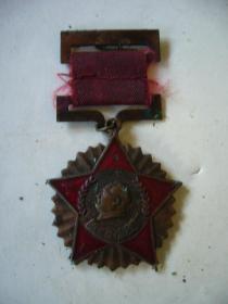 抗美援朝纪念章 1951年中国人民政治协商会议全国委员会赠
