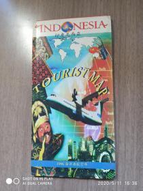 印度尼西亚 地图