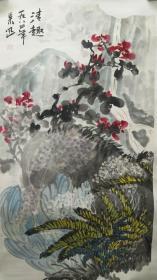 湖北著名画家鲁慕迅花鸟