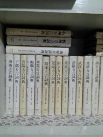 现代汉语方言大词典