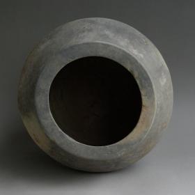 高古陶器,汉代黑弦纹陶器,花纹极美,技艺精湛,鬼斧神工,汉代黑陶器,造型古朴,极美品,极品,珍品,孤品难得一见收藏绝世珍品