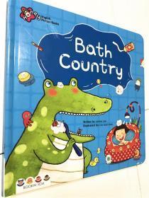 纸板书原版 bath country 书后页扫一扫音频