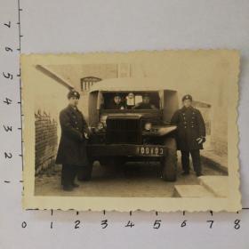 老照片五十年代军车4