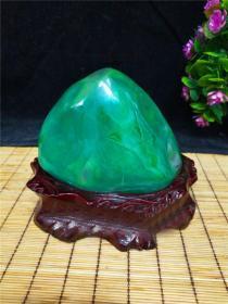 """顶级玛瑙奇石,非常稀有难得玛瑙原石""""绿宝石希望"""",""""郁郁葱葱"""",稀有绿玛瑙原石,""""绿色和希望"""",大块头,大自然的神奇造化,家庭幸福和美好未来,温润细腻,可遇不可求值得永久收藏"""