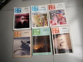 大理文化/1990/1.2.3.4.5.6(全6本)