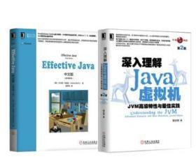 正版 effective java中文版 原书第3版+深入理解JAVA虚拟机 编程语言与程序设计 java教程 从入门到精通 java网络编程 语言 基础